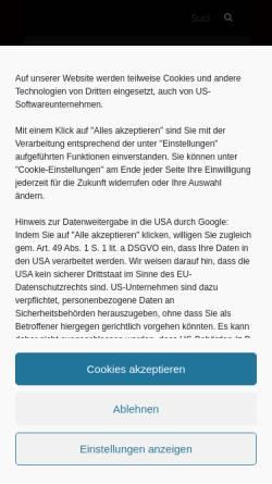 Vorschau der mobilen Webseite thammys-bbq.de, Thammy's BBQ