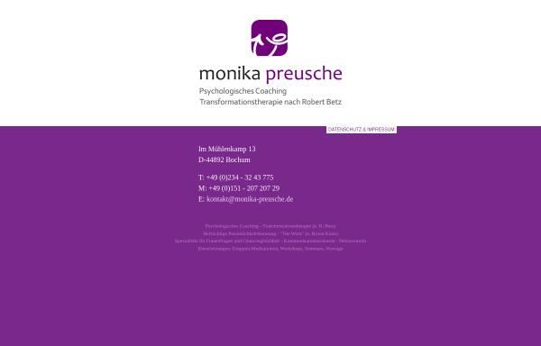 Vorschau von www.monika-preusche.de, Monika Preusche