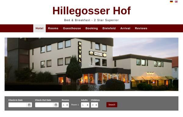 Vorschau von www.hillegosser-hof.de, Hotel Hillegosser Hof