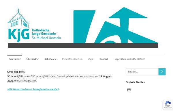 Vorschau von kjg-ummeln.de, KjG St. Michael Ummeln