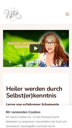 Vorschau der mobilen Webseite www.lichtkreis-online.de, Nicole Susann Ranke