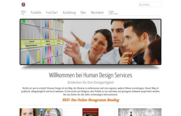 Vorschau von www.humandesignservices.de, Peter Schöber - Professional Human Design Services