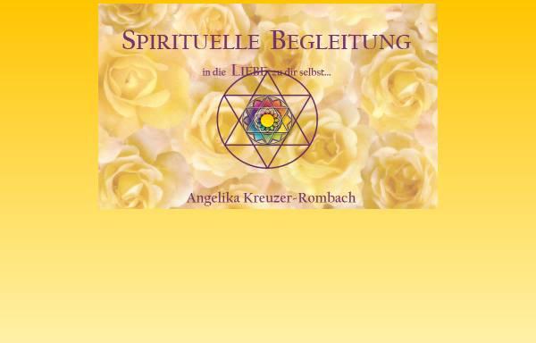 Vorschau von www.angelika-kreuzer-rombach.de, Praxis für Spirituelle Lebensberatung