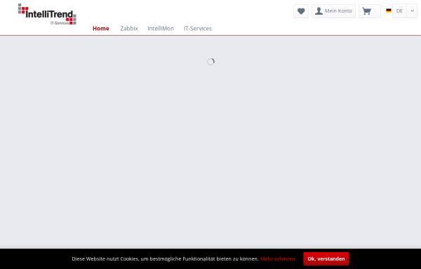 Vorschau von intellitrend.de, IntelliTrend GmbH