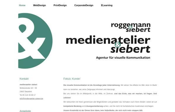 Vorschau von www.medienatelier-siebert.de, Medienatelier Siebert