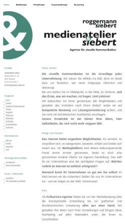 Vorschau der mobilen Webseite www.medienatelier-siebert.de, Medienatelier Siebert