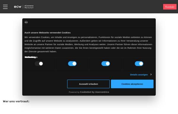 Vorschau von www.ecommerce-werkstatt.de, eCommerce Werkstatt GmbH
