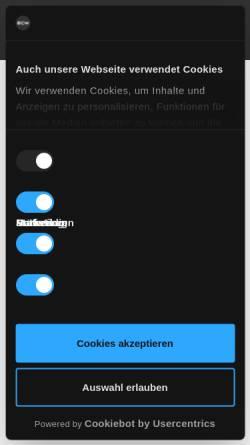 Vorschau der mobilen Webseite www.ecommerce-werkstatt.de, eCommerce Werkstatt GmbH