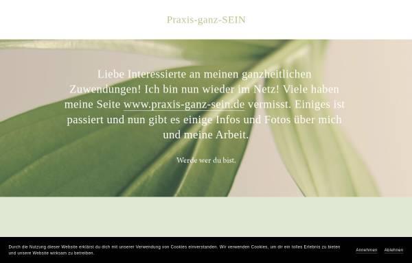 Vorschau von www.praxis-ganz-sein.de, Praxis Ganz Sein