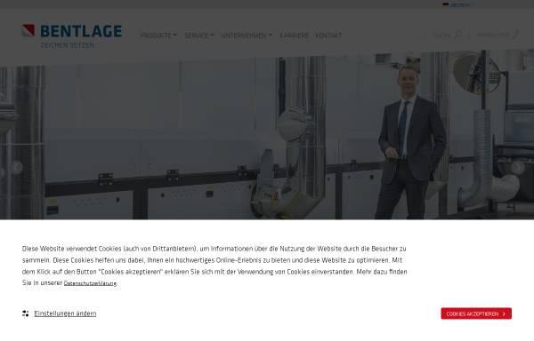 Vorschau von www.bsb.eu, Bsb-bentlage GmbH & Co. KG