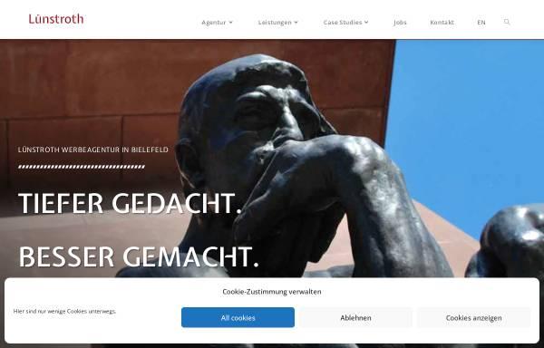 Vorschau von luenstroth-werbeagentur.de, Lünstroth GmbH