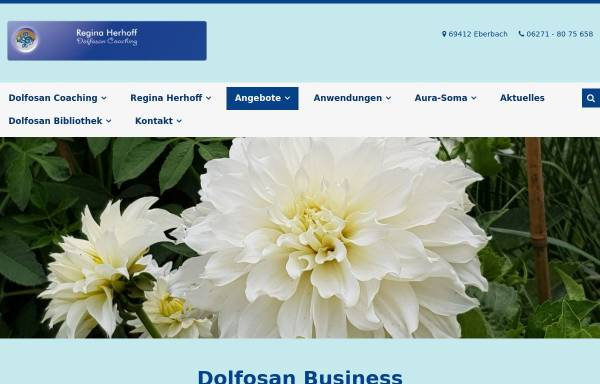 Vorschau von www.dolfosan.de, Regina Herhoff Dolfosan