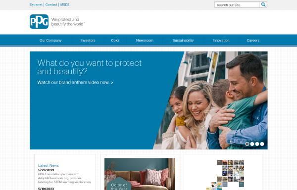 Vorschau von corporate.ppg.com, PPG Coatings Deutschland GmbH
