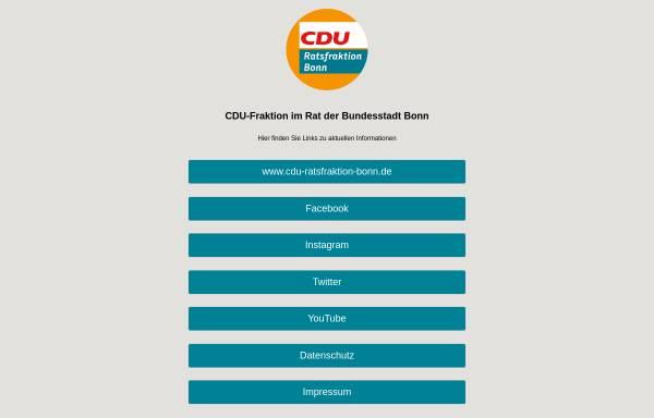 Vorschau von cdufraktion-bonn.de, CDU-Ratsfraktion im Bonner Stadtrat