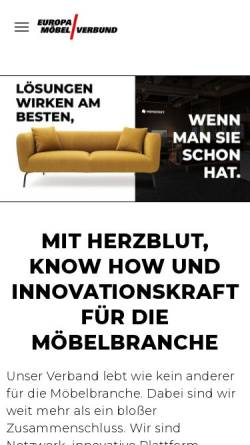 Vorschau der mobilen Webseite moebel-beyhoff.europa-moebel.de, Möbel Beyhoff GmbH & Co. KG