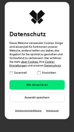 Vorschau der mobilen Webseite www.die-vielfalter.de, Vielfalter Werbeagentur GbR