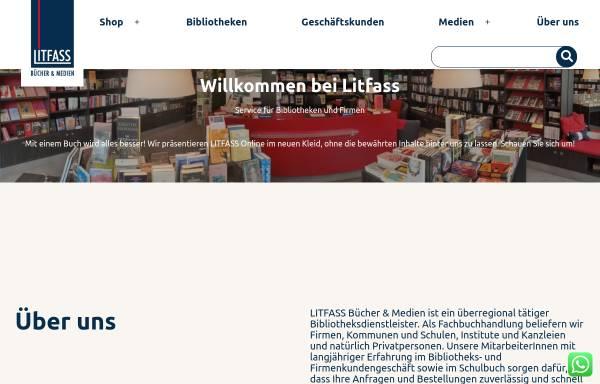 Vorschau von www.litfass-buecher.de, LITFASS Bücher und Medien Inh. Wolfgang Thönes e.K.