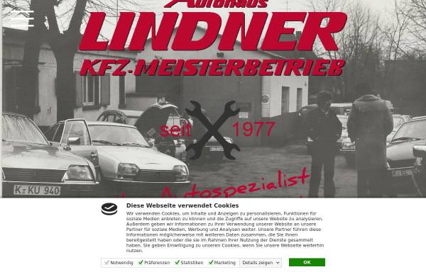 Vorschau von www.autohauslindner.de, Autohaus LINDNER