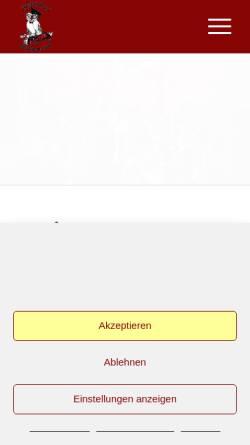 Vorschau der mobilen Webseite www.narrencollegium.de, Düsseldorfer Narrencollegium