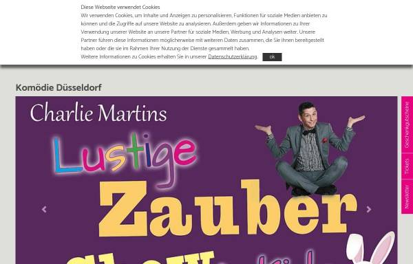 Vorschau von www.komoedie-duesseldorf.com, Komödie Boulevard-Theater