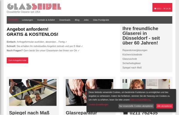 Vorschau von www.glasseibel.de, Glaserei Seibel