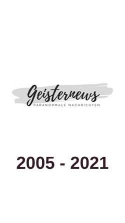 Vorschau der mobilen Webseite www.geisterarchiv.de, Das Geisterarchiv