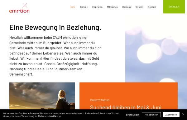 Vorschau von www.cvjm-emotion.de, CVJM emotion e.V.
