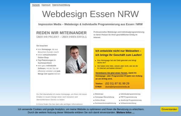 Vorschau von www.impressionmedia.de, Impression Media - Stephan Tunn e. K.