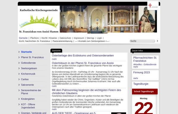 Vorschau von www.liebfrauen-hamm.de, Kath. Pfarrei Liebfrauen
