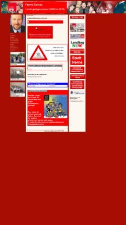 Vorschau der mobilen Webseite www.frank-sichau.de, Sichau, Frank (SPD)