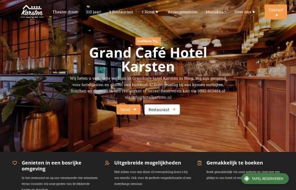 Vorschau von hotelkarsten.nl, Hotel Karsten