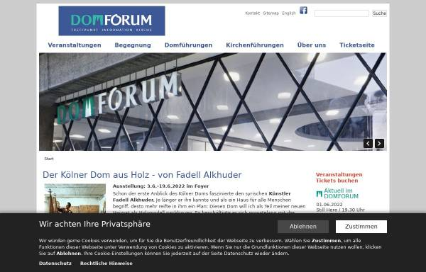Vorschau von www.domforum.de, Domforum