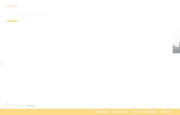 Vorschau von www.erzbistum-koeln.de, Erzbistum Köln