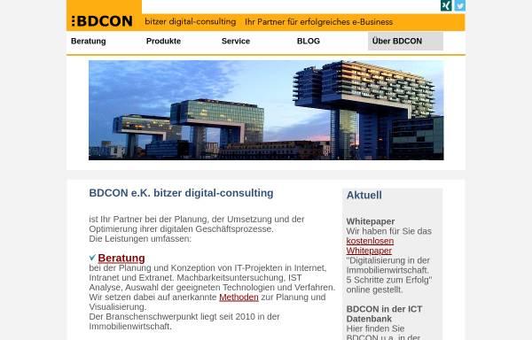 Freelancer Köln bdcon bitzer digital media consulting frank bitzer in köln