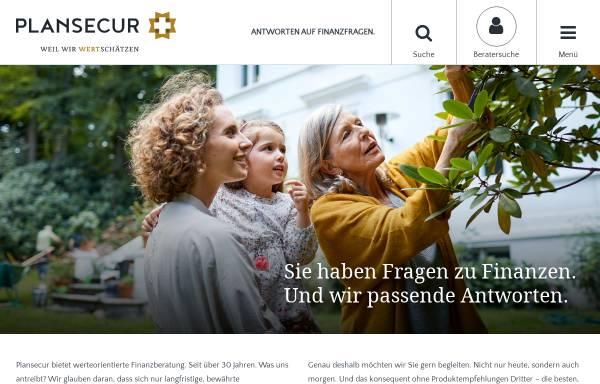 Vorschau von plansecur.de, Roger Otten - Finanzberater in Köln