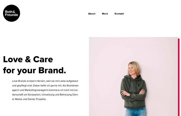 Vorschau von www.roth-und-freunde.com, Roth und Freunde, Sabine Roth