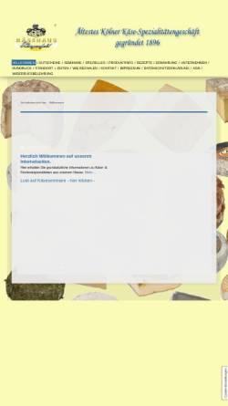 Vorschau der mobilen Webseite www.kaesehaus-wingenfeld.de, Käsehaus Wingenfeld GmbH