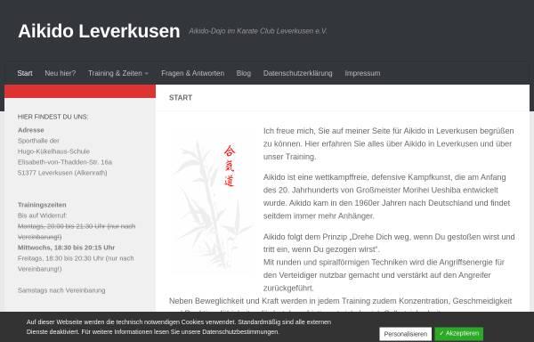 Vorschau von www.aikido-leverkusen.de, Aikido Leverkusen