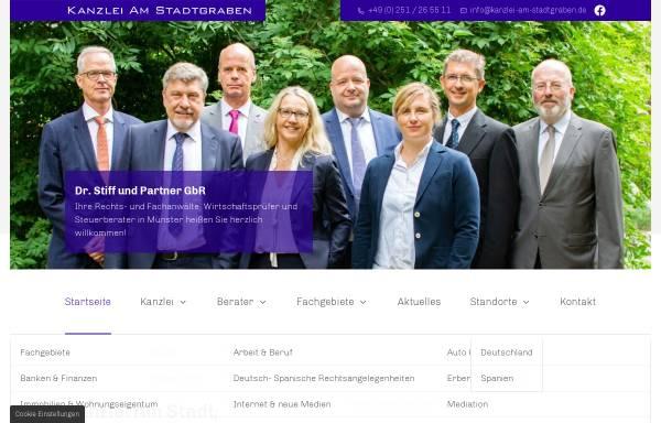 Vorschau von www.kanzlei-am-stadtgraben.de, Kanzlei am Stadtgraben