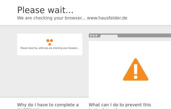 Vorschau von www.hausfelder.de, Hausfelder H. Tondera GmbH