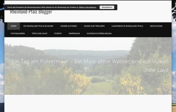 Vorschau von www.rheinland-pfalz-blogger.de, Rheinland-Pfalz Blogger