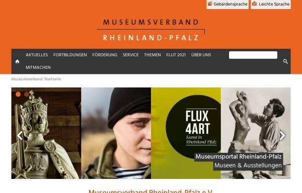 Vorschau von www.museumsverband-rlp.de, Museumsverband Rheinland-Pfalz e. V.