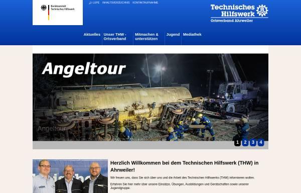 Vorschau von www.thw-ahrweiler.de, THW Ortsverband Ahrweiler