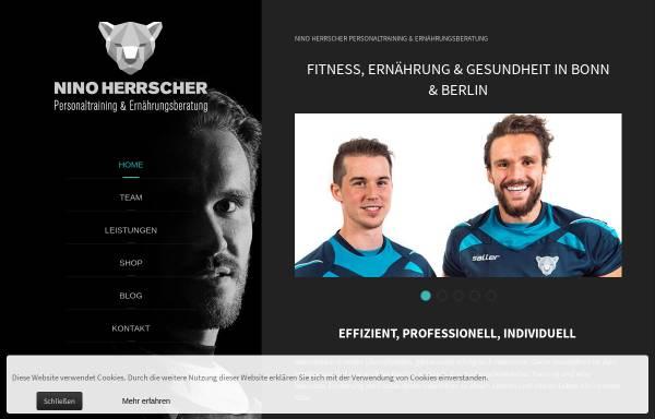 Vorschau von www.herrscher-personaltraining.de, Personal Training und Ernährungsberatung von Nino Herrscher