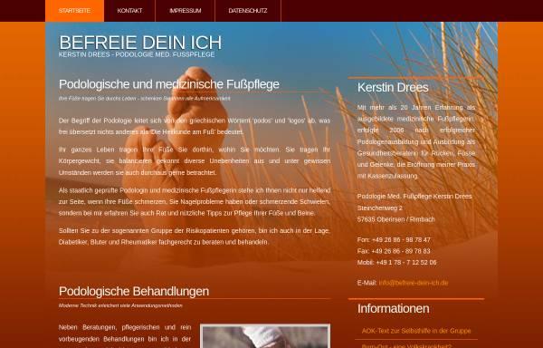 Vorschau von www.befreie-dein-ich.de, Kerstin Drees