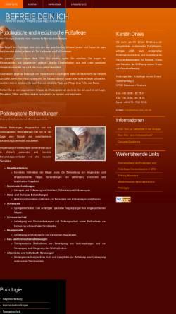 Vorschau der mobilen Webseite www.befreie-dein-ich.de, Kerstin Drees