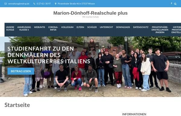 Vorschau von mdrsp.de, Marion-Dönhoff Realschule plus Wissen
