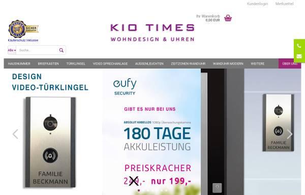 Vorschau von www.kio-times.de, Kio Times Design und Uhren Manufaktur
