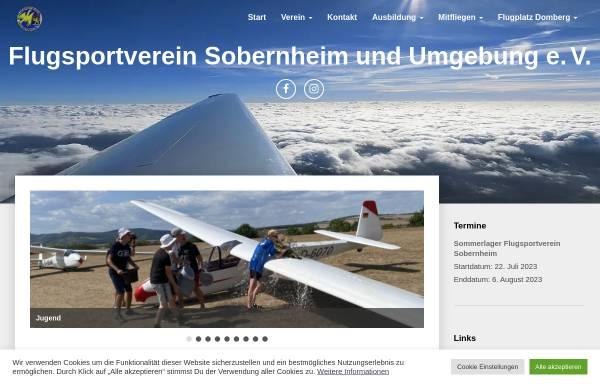 Vorschau von www.edrs.info, Flugsportverein Sobernheim und Umgebung e.V.