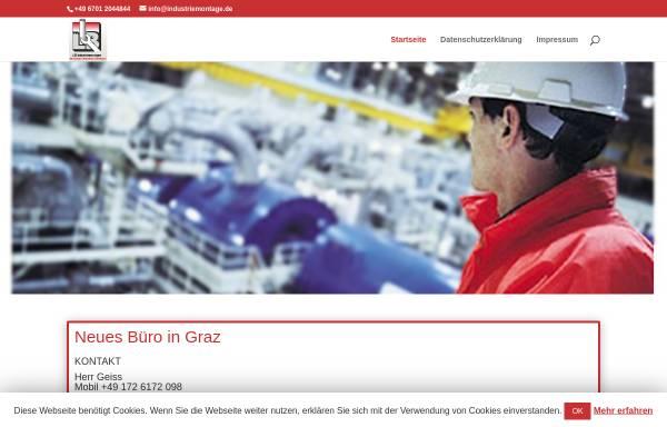 Vorschau von www.industriemontage.de, LIB Industriemontagen GmbH